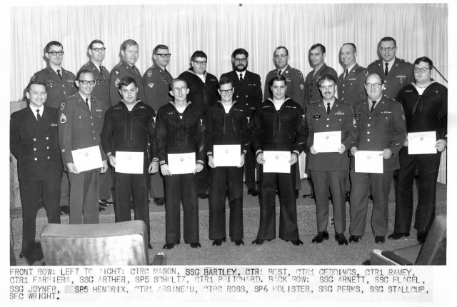 CY-155 class photo FT. Meade, MD.  December 1970