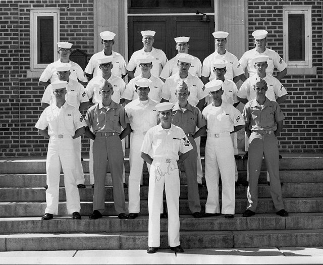Corry Field CT School CTO Class 06B-68(O) June 1968 - Instructor: CT1 Unknown