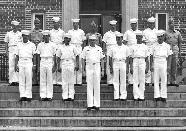 Corry Field (CTR) Class ?-65(R) summer 1965 - Instructor CT2 Norm Burden