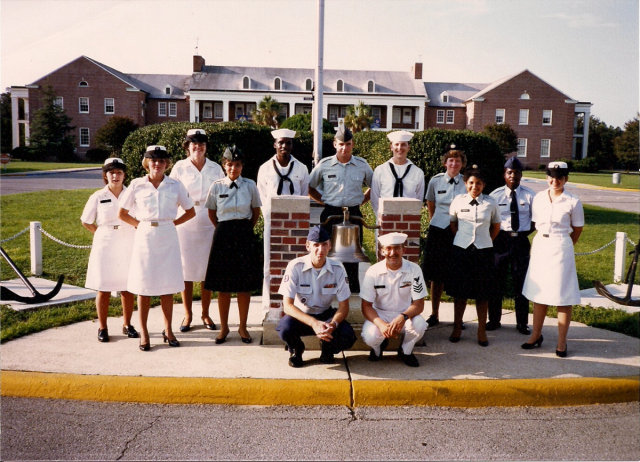 "Corry Station CTT ""A""-School during 1986 - Instructors: Unknown"