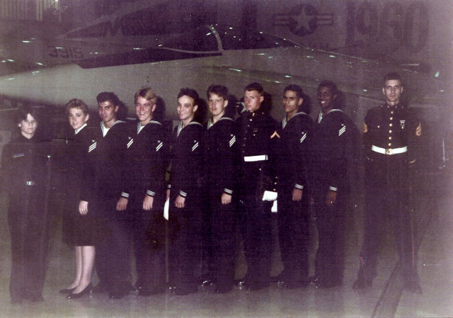 Corry Station (CTR) Advanced Class of 1986 - Instructor:  Unknown