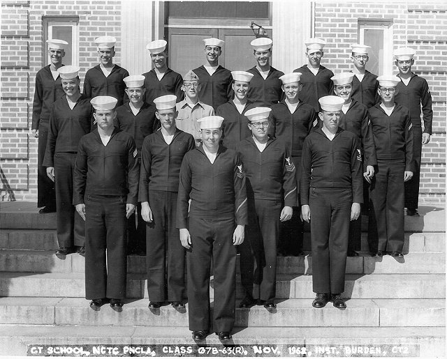 Corry Field (CTR) Basic Class 07B-63(R) Nov 1962 - Instructor CT2 Norm Burden