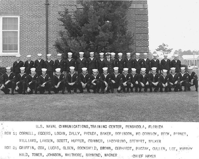 Corry Field (CTR) Basic Class 23A-66(R) Jan/Feb 1967 - Instructor CTC Hayes