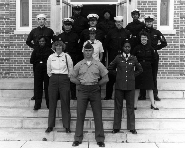 Corry Station (CTR) Basic Class of late 1982 - Instructor:  Unknown