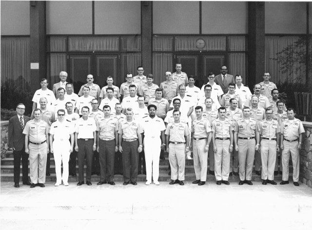 Fort Meade, MD CY-200 Senior Military Cryptologic Supervisors Course Class of September 1973