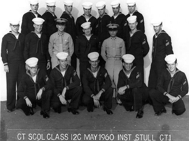 Imperial Beach (IB) Advanced Class 12C-60(R) May 1960 - Instructor CT1 Stull