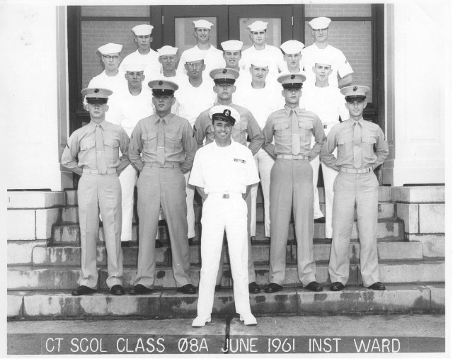 Corry Field CTR School Class 08A-61(R) June 1961 - Instructor:  CTC Ward