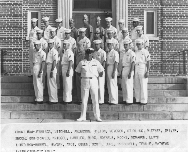 Corry Field CT School Basic Class ?(R) Between 1966-1969 - Instructor:  CTC Foley