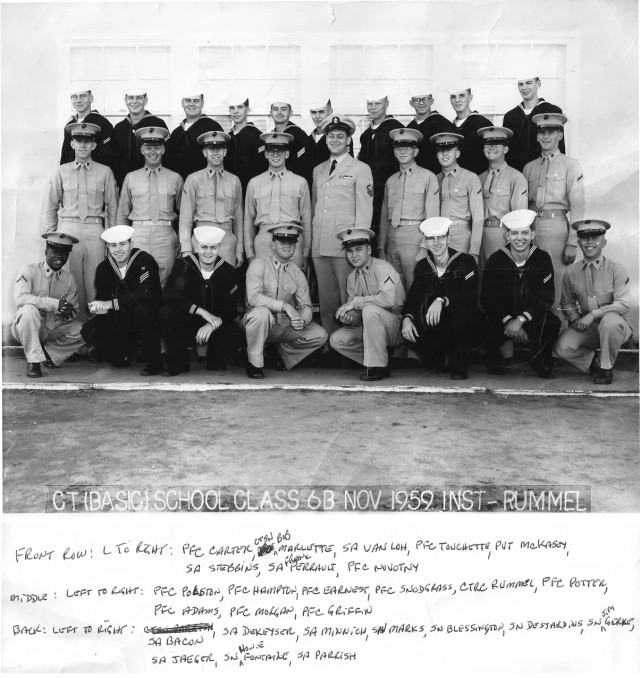 IB Basic CTR Class 6B-60(R) Nov 1959 - Instructor CTC Rummel