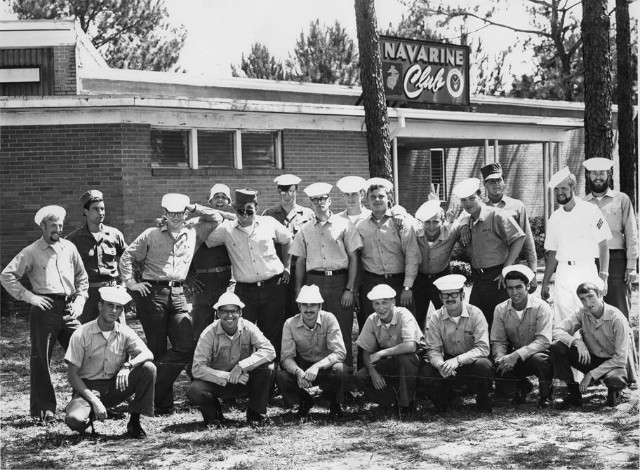 Corry Field CTR A-School Class 42A-71(R) 1971 - Instructor Unknown