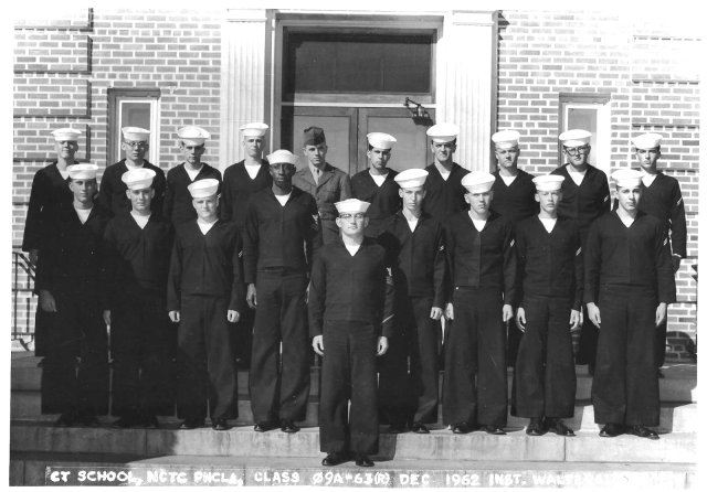 Corry Field Basic CTR class 09A-63(R) December 1962 - Instructor: CT1 Walters
